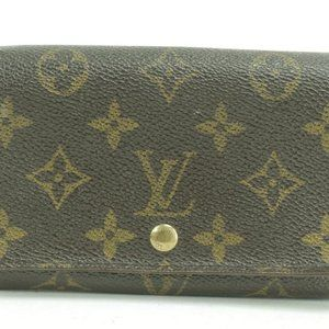 Louis Vuitton  Monogram Papier Snap Wallet Alexand
